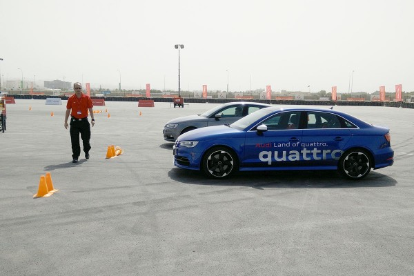 The Audi A3 and S3 Quattro Test Cars